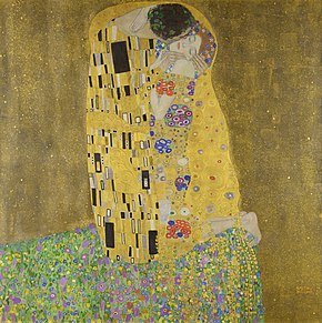 290px The Kiss Gustav Klimt Google Cultural Institute
