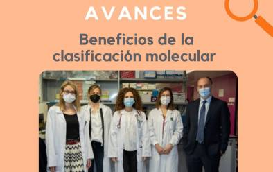 Beneficios de la clasificación molecular en cáncer de mama avanzado hormono-dependiente